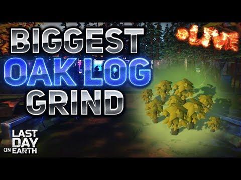 BIGGEST OAK GRIND EVER! - Last Day On Earth: Survival LIVESTREAM