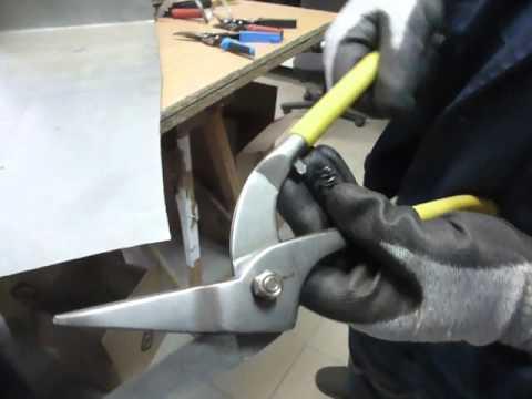 Ножницы по металлу - прямой рез: Советские(СССР, USSR), Пеликаны, Ножницы SL - сравнительный тест