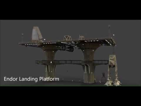 Endor Landing Platform The Holo Xperience: Star Wars