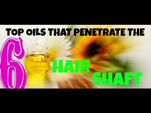 Happens. can oils that penetrate hair shaft