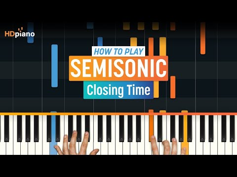 "How To Play ""Closing Time"" by Semisonic 