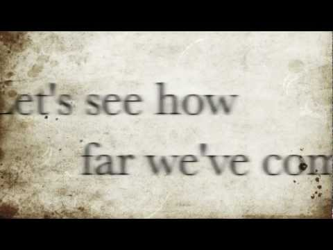 How Far We Ve Come Matchbox 20 Lyrics Youtube