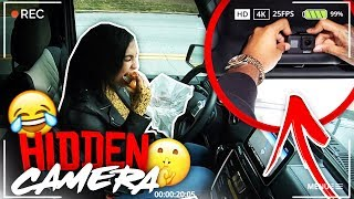 HIDDEN CAMERA IN CAR PRANK ON GIRLFRIEND! VLOGMAS DAY 11