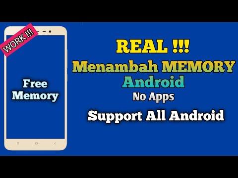 Cara Menambah Ram Penyimpanan Internal Android Tanpa Root ✓ 100 % Work.