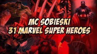 31 MARVEL SUPER HEROES RAP | Wyzwania MC Sobieskiego 79