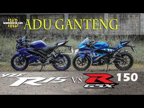 Adu ganteng Yamaha new R15VVA vs Suzuki new GSX-R15 | Pilihan sulit !!!