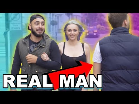 When She Wants A Real Man!