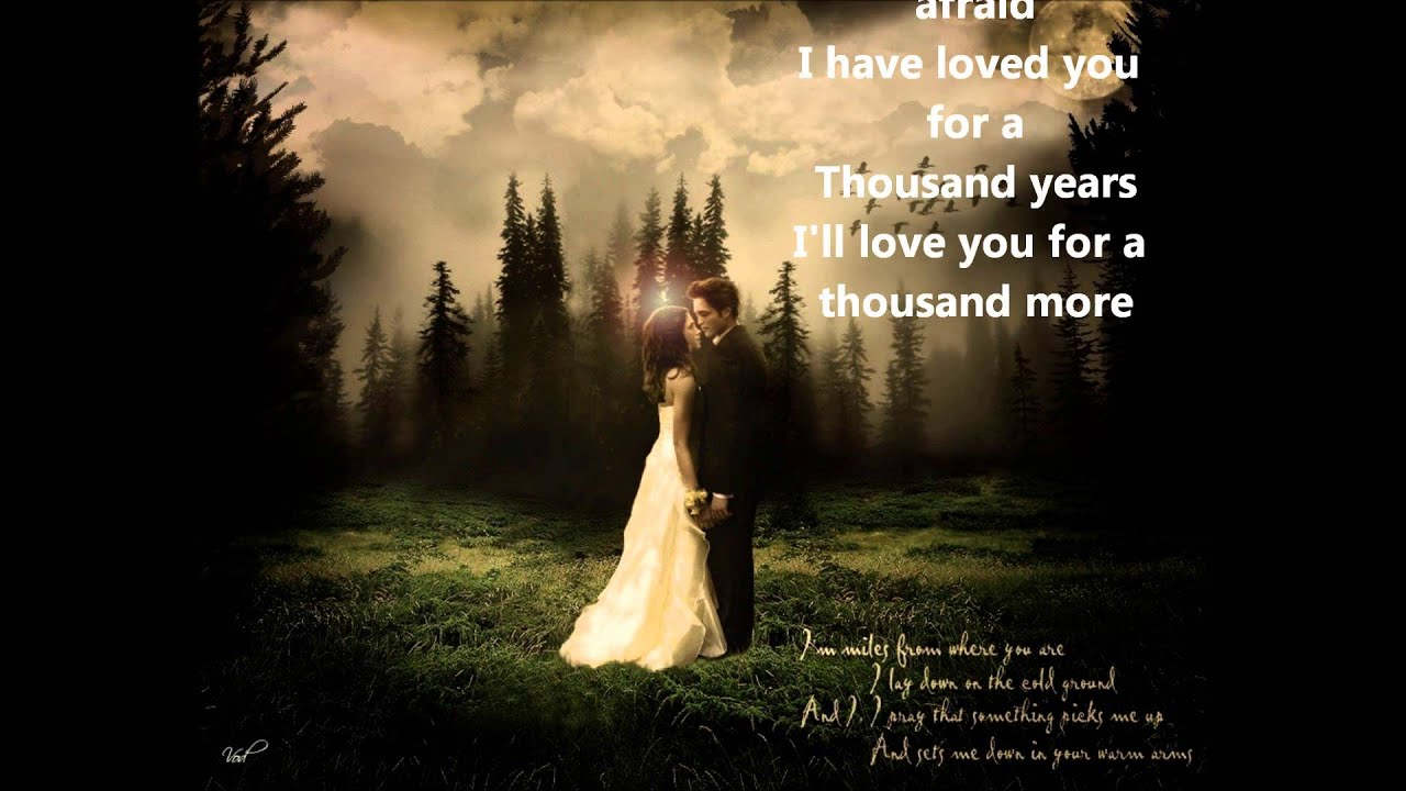 A Thousand Years, Pt.2 - Christina Perri - YouTube