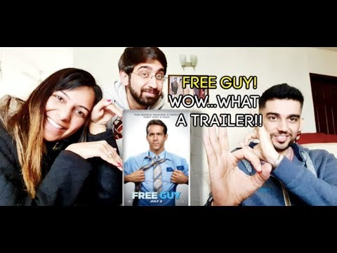 Free Guy | Official Reaction | 20th Century FOX