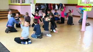 Spectacle de danse et d'expression corporelle à l'Ecole Marie Curie