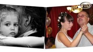 Белый танец отца и дочери - до слез...