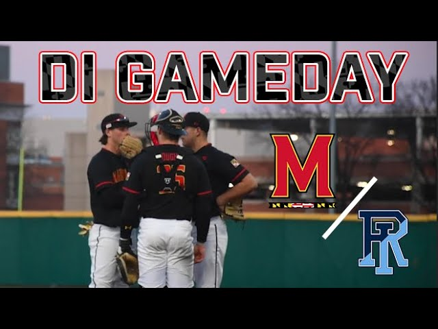 What Do Pitchers Do At A Di Baseball Practice Inside Maryland Baseball Youtube