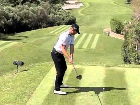 Stuart Manley Golf Swing, Slow Motion, Valderrama, Spanish Open 2016