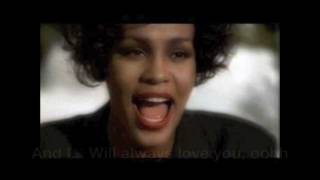 Whitney Houston Tribute  I'll Will Always Love You Lyrics
