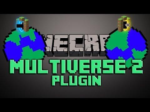 Multiverse Core Portals Bukkit Plugin Minecraft 1.7.2   German    Tutorial  