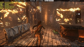 Rise of the Tomb Raider - Soviet Installation 32%, GTX 1060 & i7 6700k SweetFX 1080P