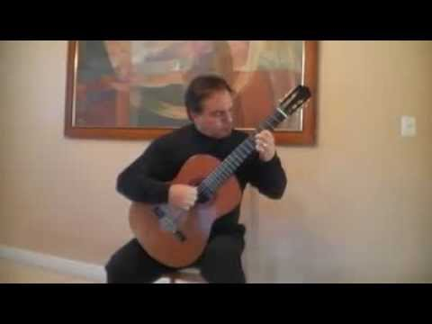 Eric Swanson Playing Classical Guitar