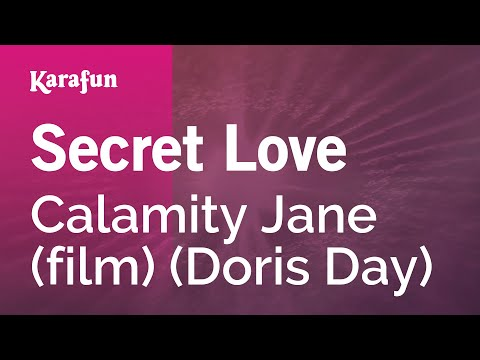 Karaoke Secret Love - Doris Day *