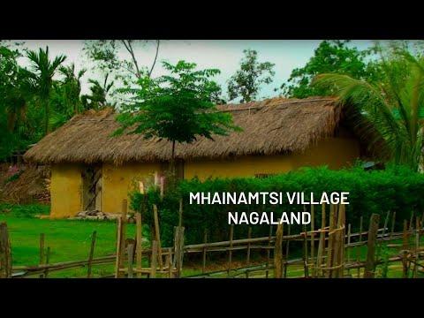 Mhainamtsi village in Jalukie, Nagaland