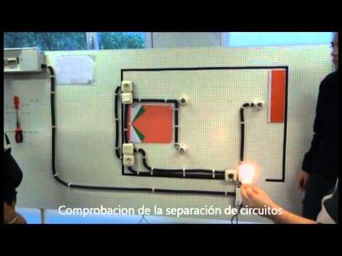 Practica electricidad instalaci n el ctrica de un - Instalacion de electricidad ...