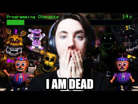 "ANIMATRONIC INFO REVEALED! PREPARE TO DIE ALOT... || ""ULTIMATE"" CUSTOM NIGHT FOR FNAF 6 IS COMING"