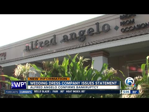 Alfred Angelo issues statement after filing for bankdruptcy