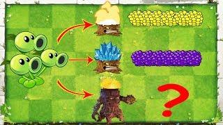 Plants vs Zombies Hack - All Torchwood vs Threepeater vs Zombies 2