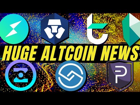 HUGE Cryptocurrency News! ShareRing, Crypto.com, Kyber Network, Tomochain, ThorChain, PivX, Zenzo