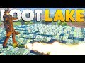 COVERING LOOT LAKE WITH PORT A FORTS | Fortnite Custom Game