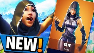 "THIS IS MY NEW FAVORITE SKIN NEW ""Fate"" Skin In Fortnite (Fortnite LIVE)"