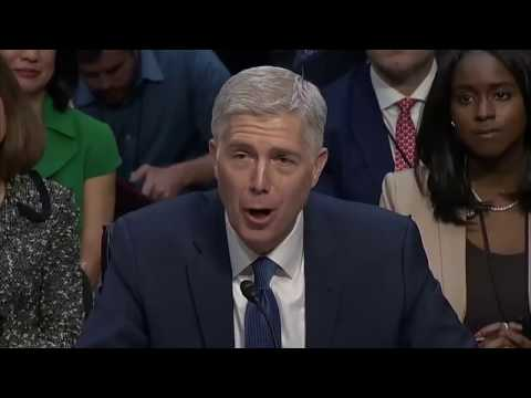 "Neil Gorsuch: ""A fetus is not a person"""