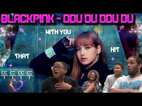 MV Reaction| BLACKPINK - DDU-DU DDU-DU (뚜두뚜두)