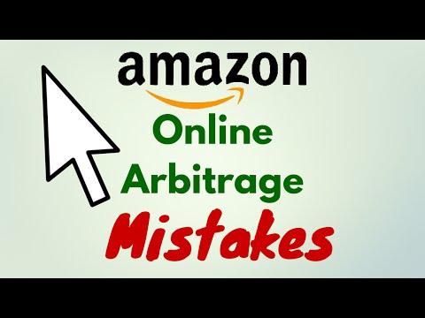 Amazon FBA Arbitrage - Online Arbitrage Mistakes to Avoid