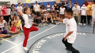 Noa (Studio U) vs JujuBeatz (TaT) | Step Ya Game Up 2012 Hip Hop | Funk