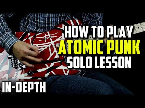 How to Play Atomic Punk Solo (Rock Guitar)