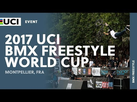 2017 UCI BMX Freestyle World Cup – Montpellier (FRA) – Highlights