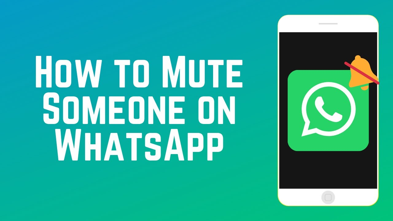 How to Mute Someone on WhatsApp | WhatsApp Guide Part 5