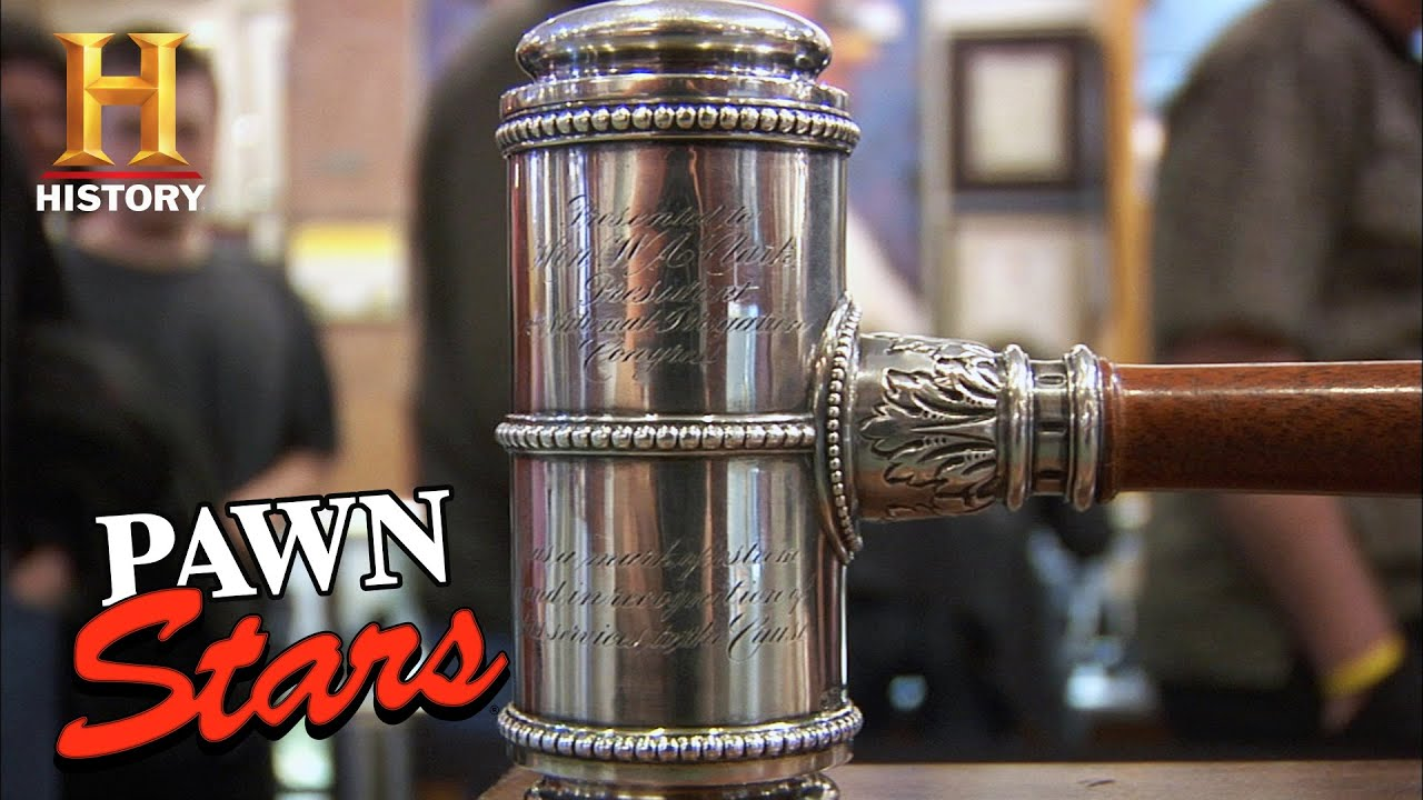 Pawn Stars: HISTORIC & PRICEY DEAL for William A. Clark's Inkwell (Season 6) | History
