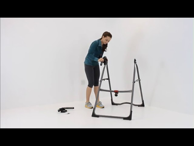 Step 1: Assemble A-Frame Base & Stretch Assist Handles