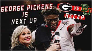 George Pickens Is NEXT UP | Georgia vs Baylor Recap 2020
