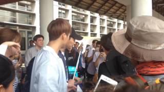 170427 HIGHLIGHT DUJUN & DONGWOON AT WATTAY AIRPORT (LAOS)