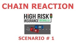 Chain Reaction Car Accident  - Fault Determination Rules - Ontario - 9 (1-3)