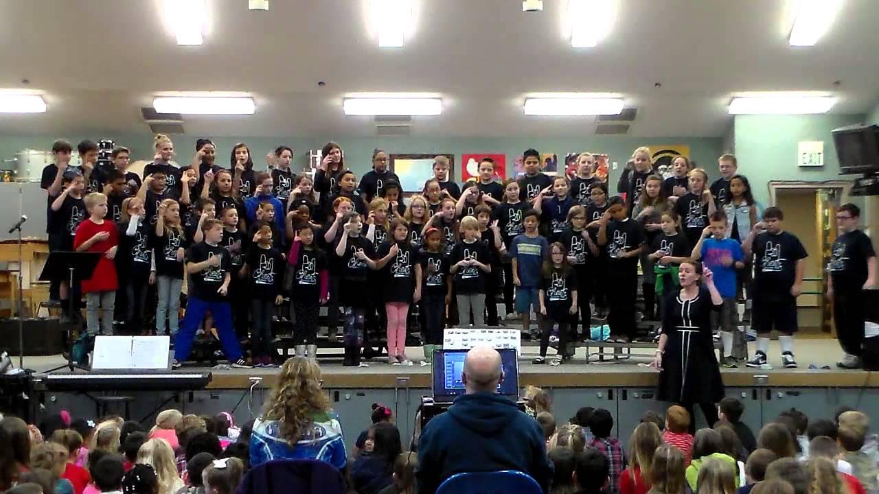 America the Beautiful (w/sign language) - Tumwater Hill Elementary