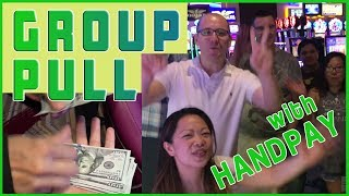 💰🍹 HIGH Betting, HIGH Drinking GROUP PULL ✦ +$30 SPIN ✦ High Limit Slots EVERY FRIDAY!