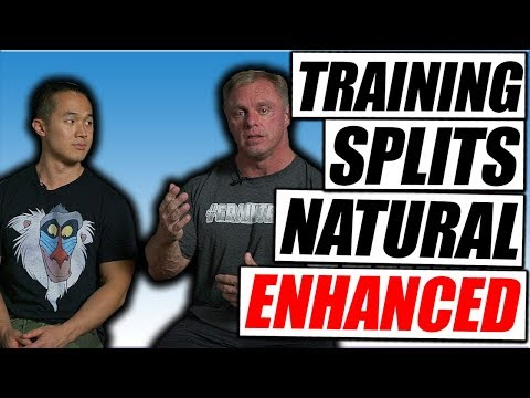 How To Set Up a Training Split | Natural vs Enhanced