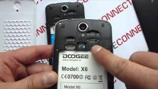 doogee X6 Pro и Doogee X6 - видео обзор и сравнение