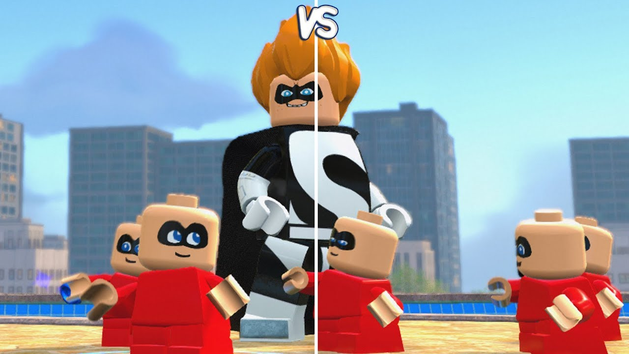 LEGO The Incredibles - Syndrome vs Jack-Jack - CoOp Fight