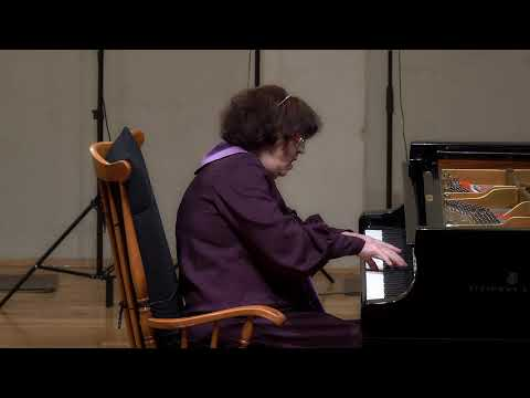 Sretna Meštrović  - Last Concert - Schubert Piano Sonata in B Flat Major