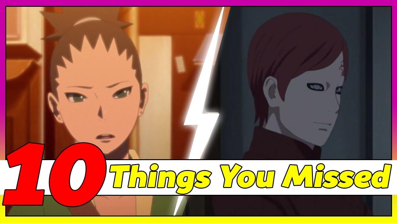 Shikadai The Next Kazekage? 10 Things You Missed Boruto: Naruto Next  Generations Episode 3 アニメ