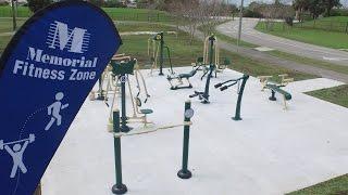 Memorial Hospital Miramar dedicates Memorial Fitness Zone at Miramar Regional Park